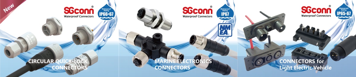 sgconn waterproof connector