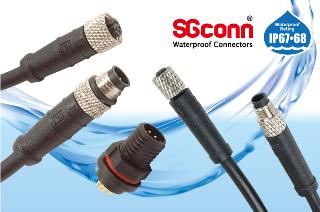 M8 Sensor IP 67 Waterproof Connector