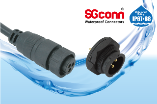 Circular Middle Size IP67 Waterproof Connector