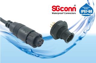 Circular Mini Size IP67 Waterproof Connector